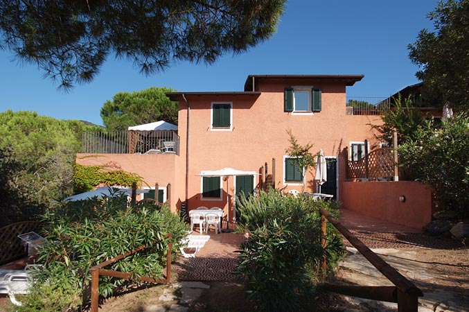 Holiday in apartment on Elba